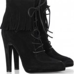 Balmain fringed-leather-boots