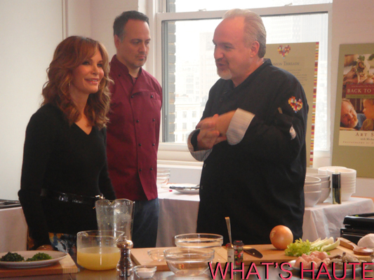Jaclyn Smith and Kmart chef Art Smith