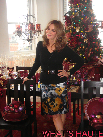 Kmart Christmas Trees Jaclyn Smith.Celebrating The Holiday S With Jaclyn Smith And Kmart