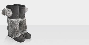 muks-fur-boots at ideeli