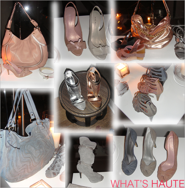 Spring 2010 pastel shoes handbags and accessories at Nine West