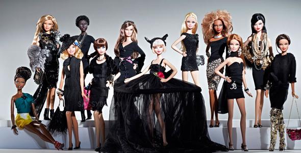 Barbie Basics black label collection of little black dresses