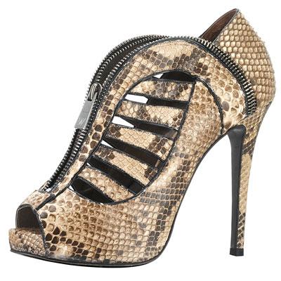 H Williams' python spring shoes rueda tan