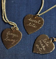 In God We Trust Sweet Nothings Necklace