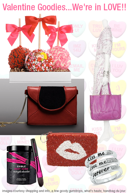 Weekly Shopping and Goodies Valentine's Day edition