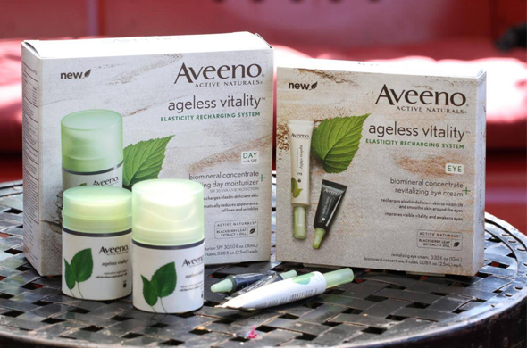 Aveeno Ageless Vitality Collection