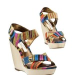 Cynthia Vincent shoes for Target Ikat wedge heels