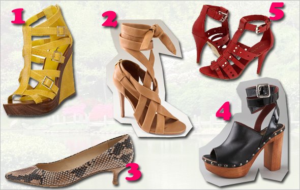 The top 5 spring and summer shoes you need right now!
