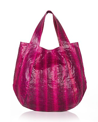 Win $250 from beso to get a start on your summer handbag shopping Beirn Jenna Watersnake Tote