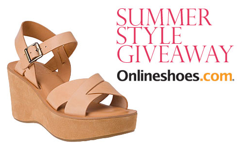 TheFind</strong> is giving away a $100 gift card to spend on new summer sandals from our friends at Onlineshoes.com