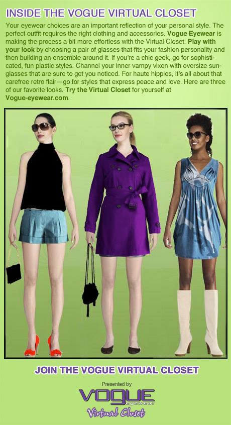 Sponsored: Inside the Vogue eyewear Virtual Closet