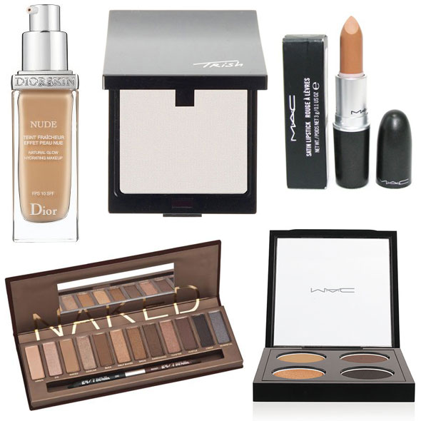 Runway-ready makeup: Fall 2010 DiorSkin Nude Foundation Trish McEvoy Translucent Finishing Powder Urban Decay Nakeds Palette MAC has a great Leopard Luxe eye shadow quad Fabulous Felines Collection MAC Lipstick in Siss