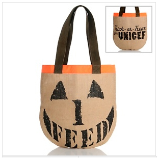 FEED Trick-or-Treat for UNICEF bag
