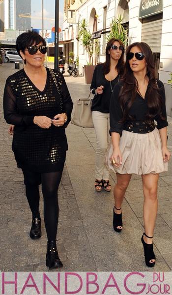 kim-kardashian-kris-jenner spend $100,000 at hermes in paris france and shopping in milan italy