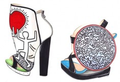 Preview the Nicholas Kirkwood x Keith Haring shoe collection