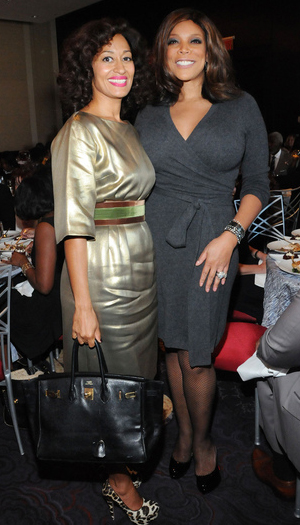 tracee ellis ross wendy williams Hermes and McQueen at the Essence 40 Fierce and Fab Under 40 awards luncheon