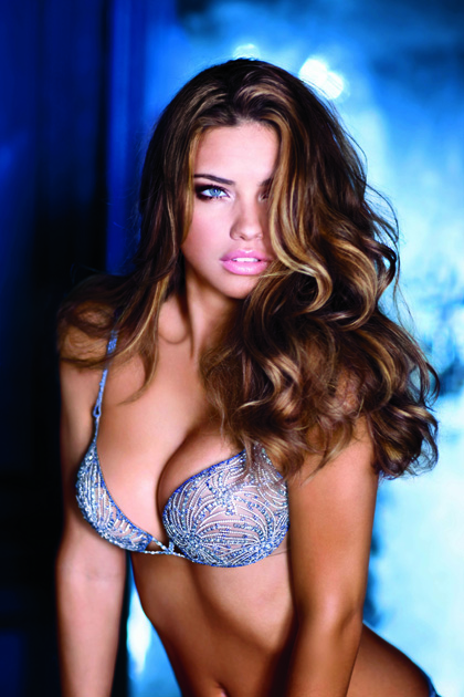 Adriana Lima $2 Million Victoria's Secret Fantasy Bra