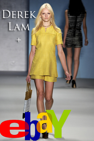 Derek Lam is launching an exclusive collection on eBay and YOU get to choose what's in it