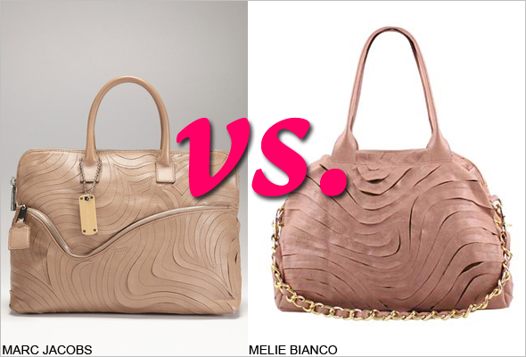 Marc Jacobs Bruna vs. Melie Bianco Laura wave satchels