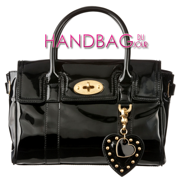 mulberry-for-target-satchel-in-black-patent
