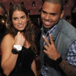 nikki-reed-chris-brown Swatch New Gents Collection launch party