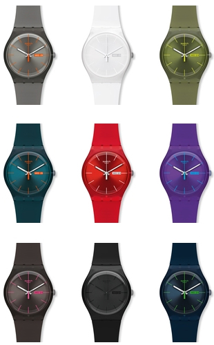 Swatch New Gents Collection