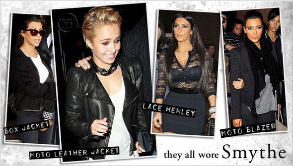 Shop Kim Kardashian's style with separates from Smythe Kourtney Kardashian Hayden Panettiere