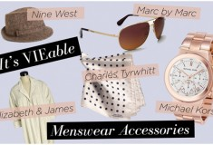 Haute trend: Menswear-inspired accessories