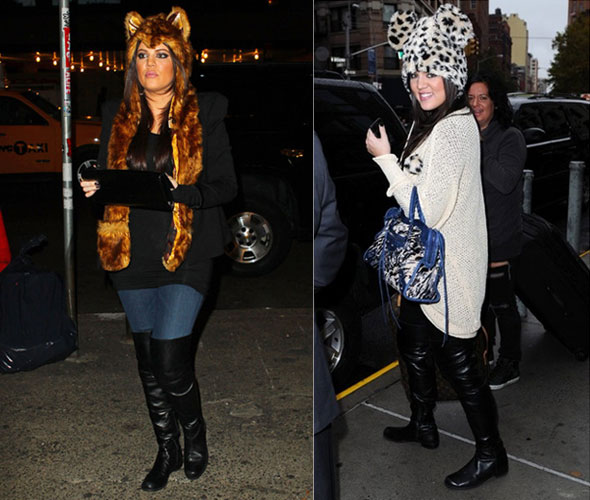 Khloe Kardashian animal Ear hats