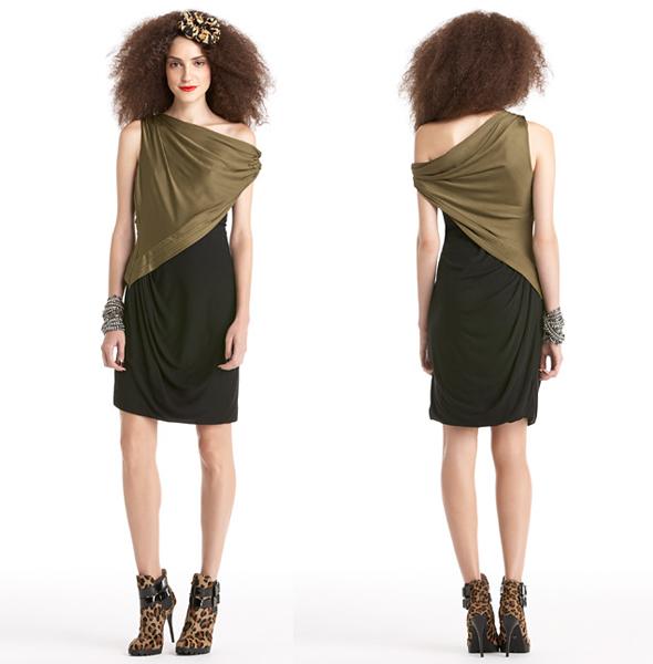Rachel Roy Martini with a Twist Dress (Green)