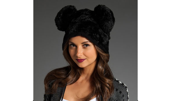 Sauce Mickey Ears Hat in Black