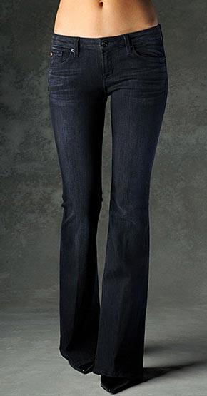 Hudson-Milman-Five-Pocket-Flare jeans