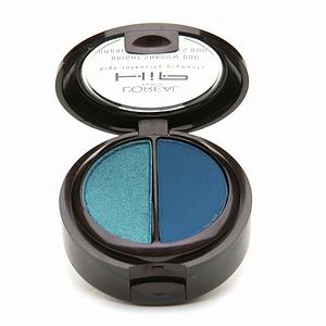L'Oreal HIP Bright Duos eye Shadow, Showy blue