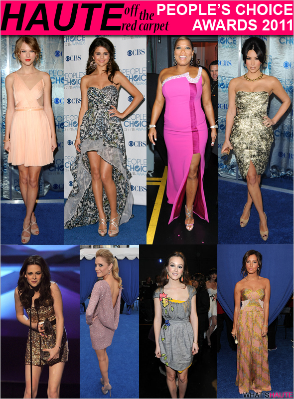 Best dressed celebrities at the 2011 People's Choice Awards-fashion-red-carpet