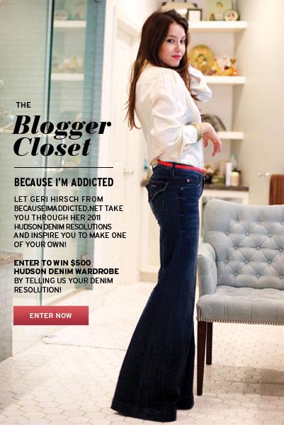 hudson jeans because im addicted blogger closet