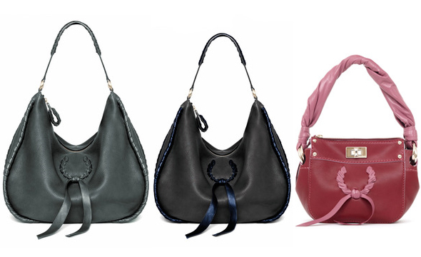 Nina Ricci small turn-lock and medium hobo handbags