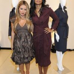 Aubrey O'Day and Rachel Roy attends the Rachel Roy Fall 2011 presentation during Mercedes-Benz Fashion Week at The Donald & Mary Oenslager Gallery on February 15, 2011 in New York City