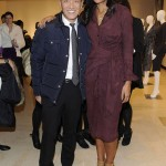 Joe Zee and Rachel Roy attend the Rachel Roy Fall 2011 presentation during Mercedes-Benz Fashion Week at The Donald & Mary Oenslager Gallery on February 15, 2011 in New York City