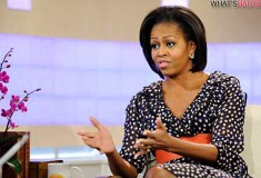 First Lady Michelle Obama wears H&M again - this time on the Today Show!