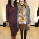 Olivia Palermo and Rachel Roy attend the Rachel Roy Fall 2011 presentation during Mercedes-Benz Fashion Week at The Donald & Mary Oenslager Gallery on February 15, 2011 in New York City