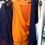 Rachel Roy orange dress