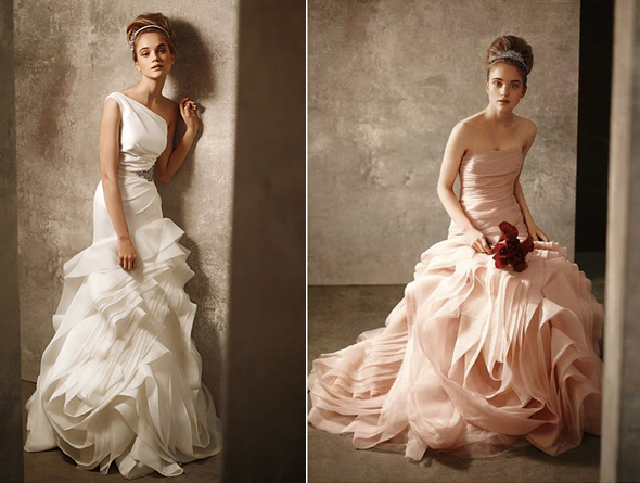 Vera Wang Designs Haute Couture Gowns On The Cheap For
