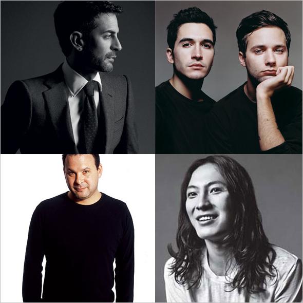 CFDA 2011 nominees Alexander Wang, Marc Jacobs, Proenza Schouler, Reed Krakoff