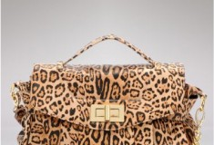 Ooh la la for leopard print: buy the Be & D Rowan Satchel