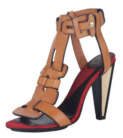 Diane von Furstenberg Irene Runway Shoes in Camel