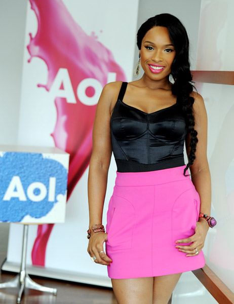 Jennifer Hudson at AOL Music's Sessions
