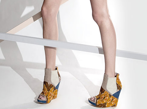 Aldo x Julian Louie collection of wedges
