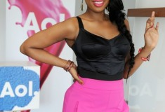 Get Her Haute Look: Jennifer Hudson at AOL Music's