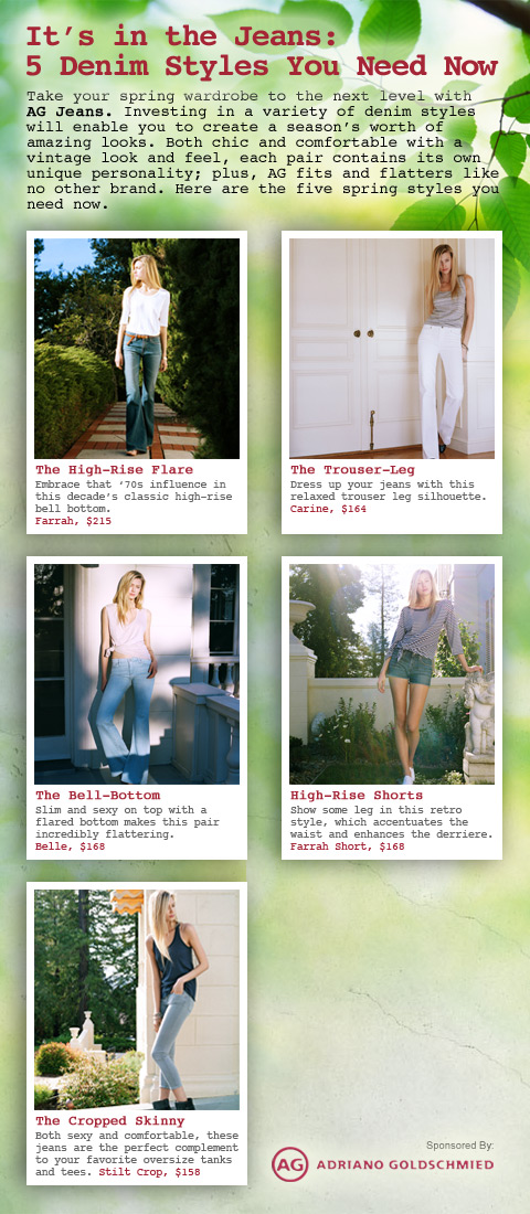 AG Jeans Glam Chic