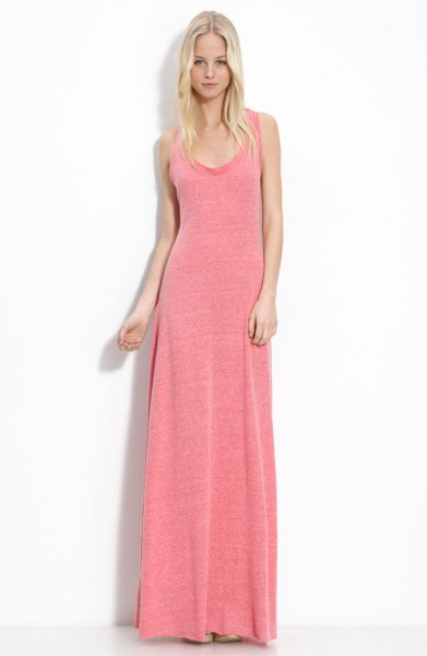 Alternative 'Eco Racer' Maxi Dress